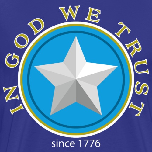 USA - In god we trust - Männer Premium T-Shirt