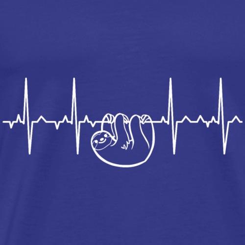 ECG Sloth - Men's Premium T-Shirt