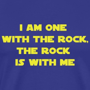 One with the rock - Men's Premium T-Shirt