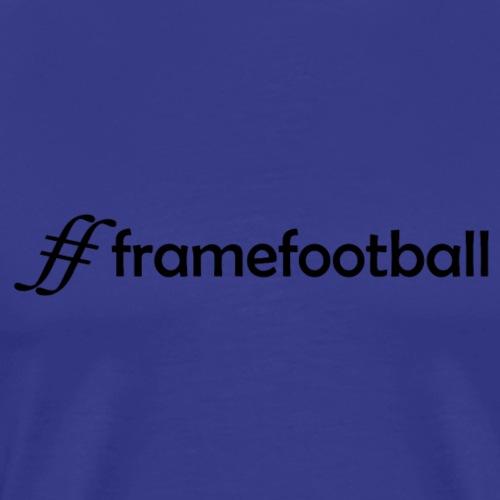 Hashtag Framefootball - Men's Premium T-Shirt