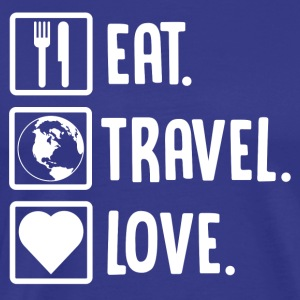 ++ Eat, Travel, Love ++ - Men's Premium T-Shirt