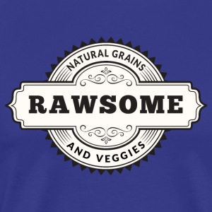 Rawsome Natural Grains Veggies - T-shirt Premium Homme
