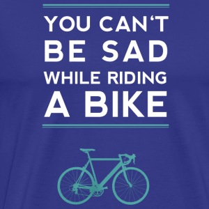 Bicycle sad spell Road Biker Design style - Men's Premium T-Shirt