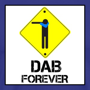Dab Forever Yellow Black - Men's Premium T-Shirt
