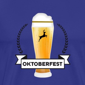 drink october-bier Oktoberfest Bayern Party Man - Men's Premium T-Shirt