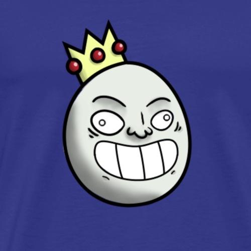Roi souriant - T-shirt Premium Homme