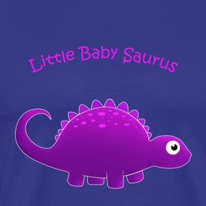 Purple Little Baby Saurus - Men's Premium T-Shirt