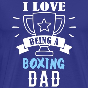 Father's Day Gift Boxer - Men's Premium T-Shirt