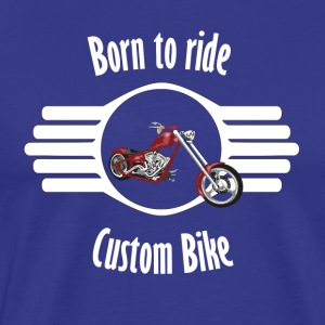 bike2 Font whitexxl - Men's Premium T-Shirt