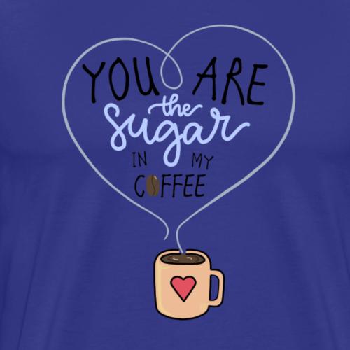 Sugar in my coffee - Maglietta Premium da uomo