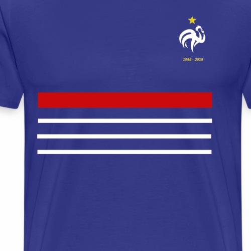Maillot France 98 - 2018 Equipe de France - T-shirt Premium Homme