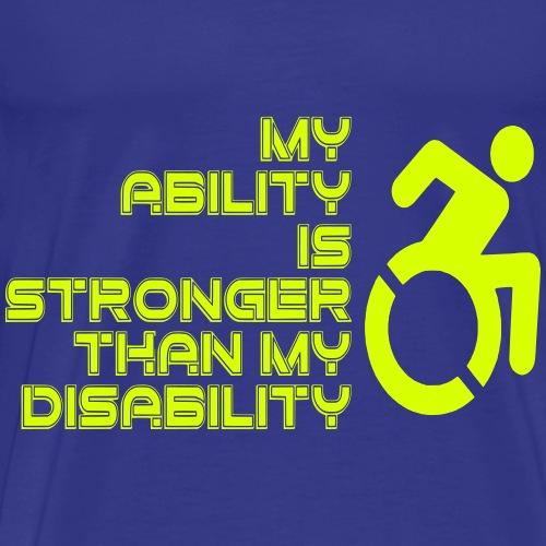 Ability1 - Mannen Premium T-shirt