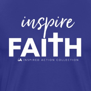 Inspire faith white - Men's Premium T-Shirt