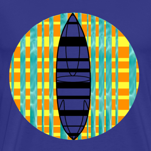 Surfbrett - Männer Premium T-Shirt