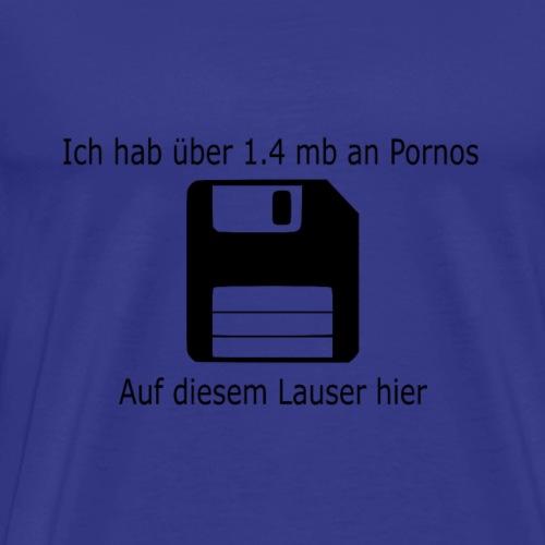 Der Megaspeicher Diskette - Männer Premium T-Shirt