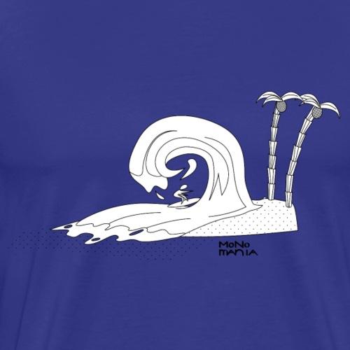 Surf Schnecke - Männer Premium T-Shirt