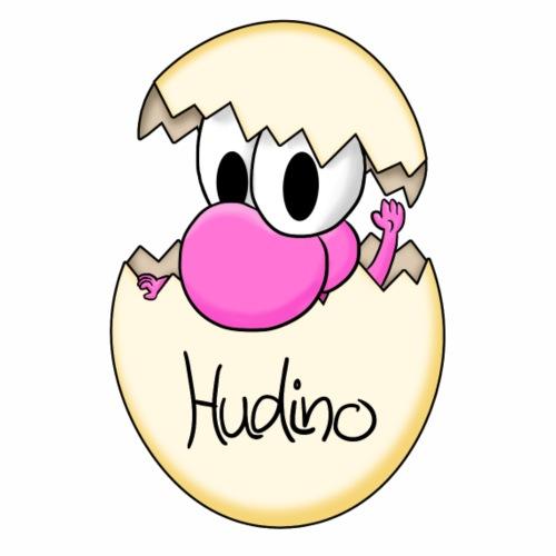 Hudino Baby Rosa - Männer Premium T-Shirt
