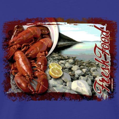 06-41 Fresh Food series. - Miesten premium t-paita