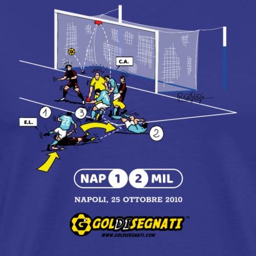 NAP-MIL 1-2 Il Gol del Pocho - Maglietta Premium da uomo