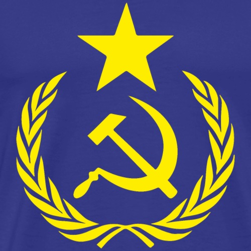 Drapeau et Symboles Communistes - T-shirt Premium Homme