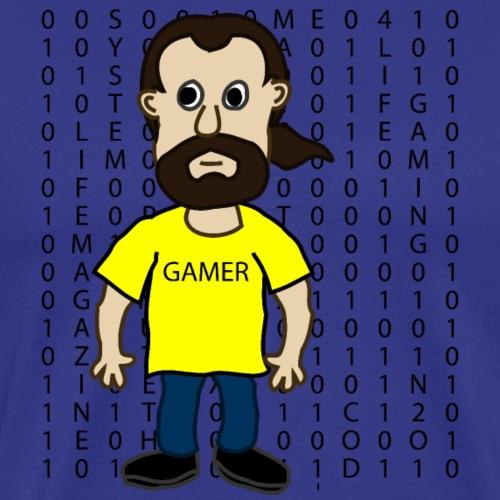 GAMER MATRIX GEEK - T-shirt Premium Homme