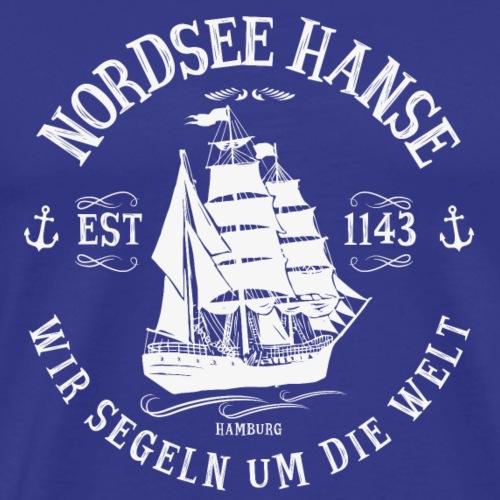 Nordsee Hanse - Männer Premium T-Shirt
