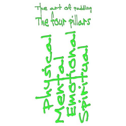 The four pillars Green - Männer Premium T-Shirt