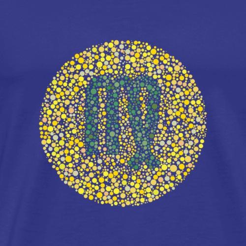 Virgo Eye Test Zodiac Symbol - Men's Premium T-Shirt