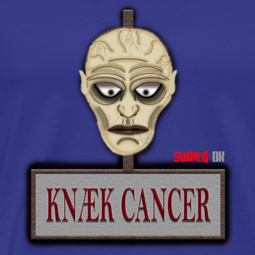 Knæk Cancer Kollektion ! - Herre premium T-shirt