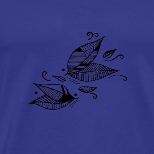 Feuilles au vent - T-shirt Premium Homme