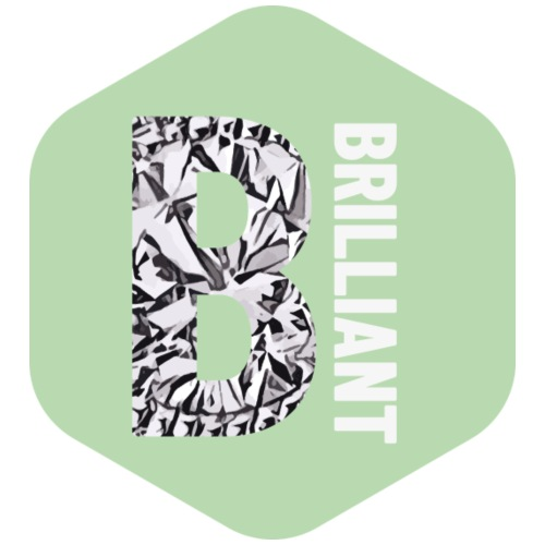 B brilliant green - Mannen Premium T-shirt