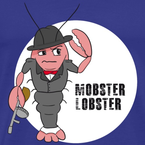 Mobster Lobster - Männer Premium T-Shirt