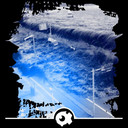 Fukushima tsunami 2011 - Männer Premium T-Shirt