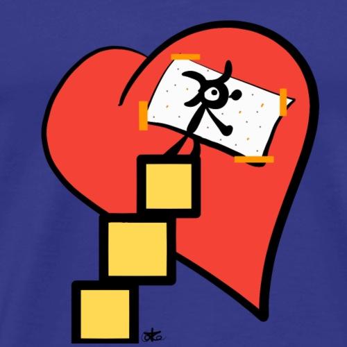 Kuoro cura cuore - Maglietta Premium da uomo