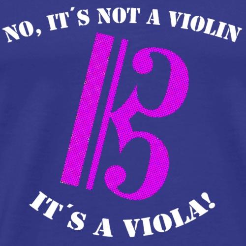 Violin viola - Camiseta premium hombre