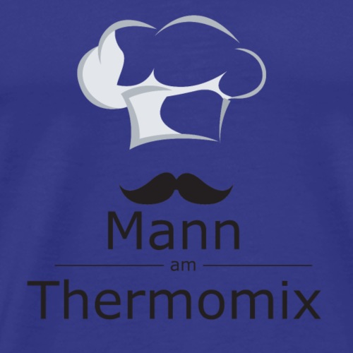 Mann am Thermomix - Männer Premium T-Shirt