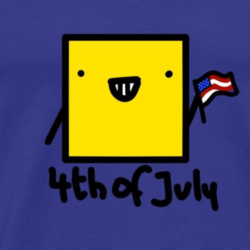 Fourth of July - Men's Premium T-Shirt