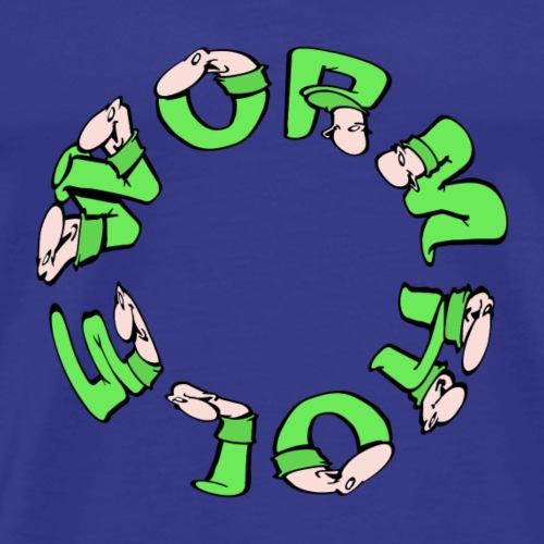 wormhole - Mannen Premium T-shirt