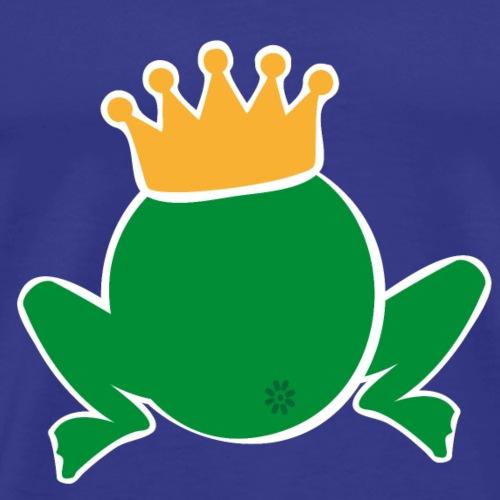 Frosch König - Männer Premium T-Shirt