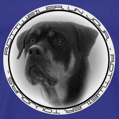 Rottweiler Un Jour Rottweiler Toujours GLAMOUR - T-shirt Premium Homme