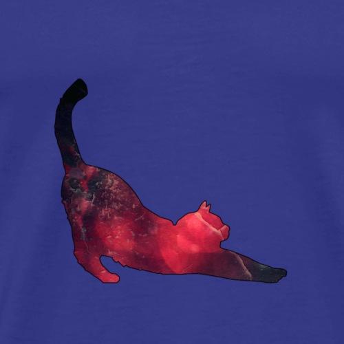 Gatto colorful - Maglietta Premium da uomo
