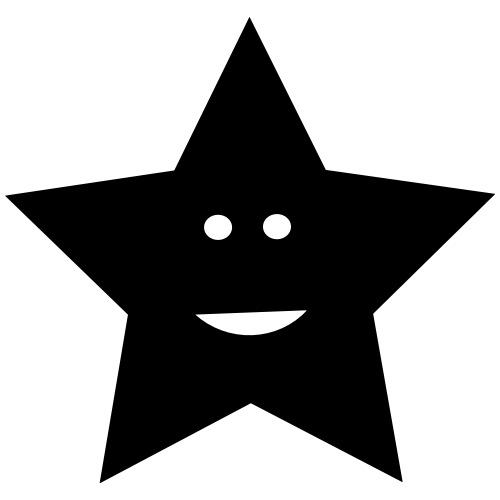 Lachender Stern - Männer Premium T-Shirt