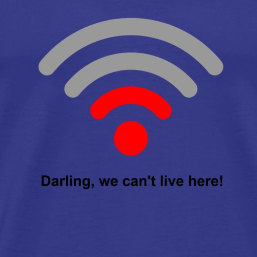 cant live here - Men's Premium T-Shirt