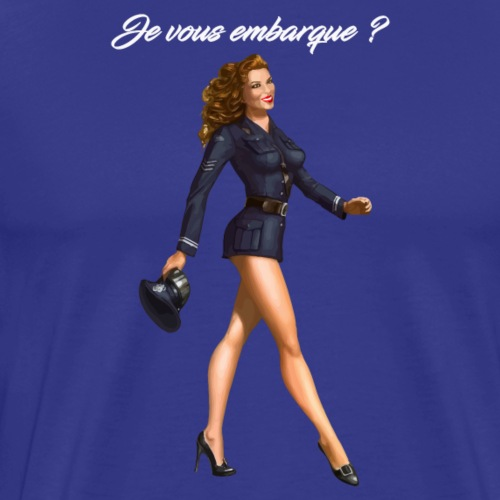 DTDF1217-HOTESSE - T-shirt Premium Homme