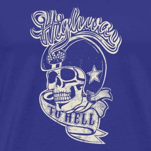 Highway to Hell - Mannen Premium T-shirt