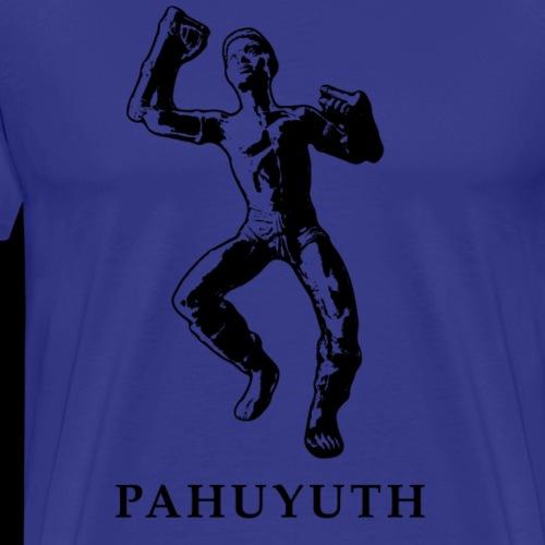 Pahuyuth Teacher Statue black - Männer Premium T-Shirt