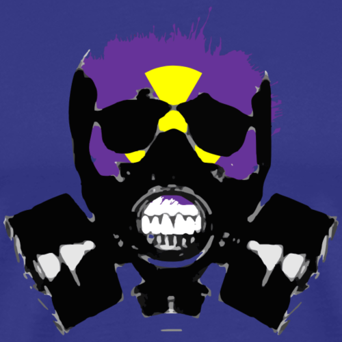 gasmask - Men's Premium T-Shirt