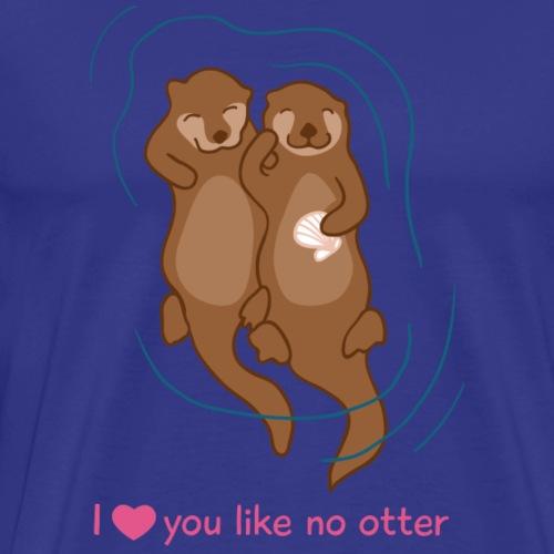 Otter Love - Männer Premium T-Shirt