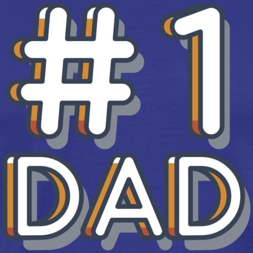 Papá número uno - Camiseta premium hombre