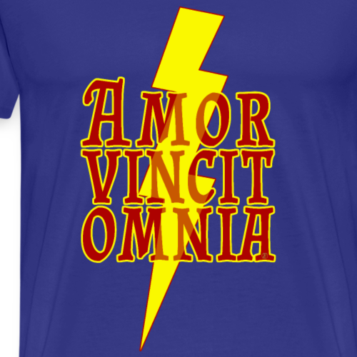 Amor vincit omnia - Maglietta Premium da uomo